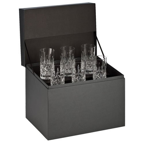 Waterford Crystal, Lismore Hiball Deluxe Gift Box Set of 6
