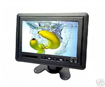7quot Inch Colour LCD TV Monitor For Car Rear View CCTV Security Camera