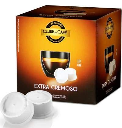 Cápsulas Delta®* Q Compatibles Extra Cremoso 10 unidades