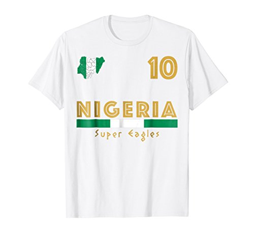 Nigeria Soccer Jersey 2018 World Football Cup Shirt Fan Gift