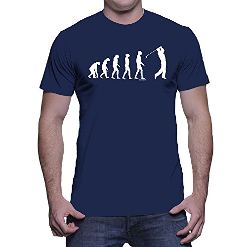 Mens Evolution Golfing Golf T shirt