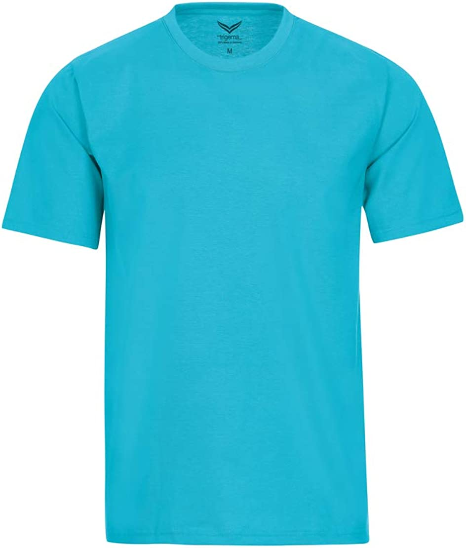 Trigema Herren T-Shirt aus Baumwolle 637202