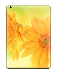 Fashion HrzuMJf5138NpULG Case Cover For Ipad Air(pretty Yellow Flowers )