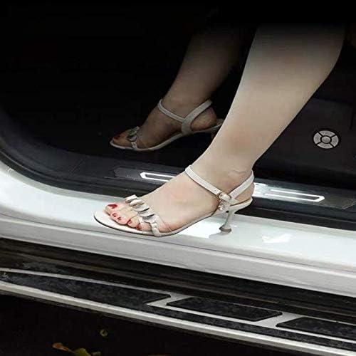 ZYLFP 4 St/üCk Einstiegsleisten T/üRschwellerschutz F/üR Mazda 6 Accessories 2015-2018 Edelstahl Kick Plates rutschfeste Anti-Kratz Schutzleiste Trim Zubeh/öR
