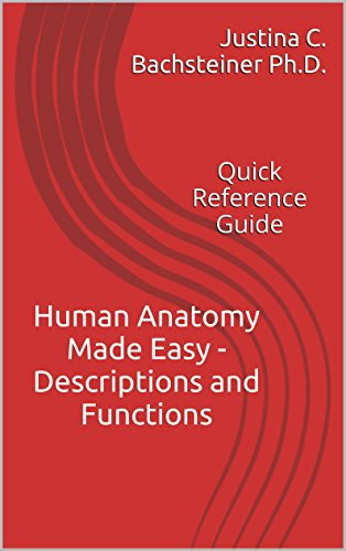 Human Anatomy Made Easy - Descriptions and Functions: Quick Reference Guide