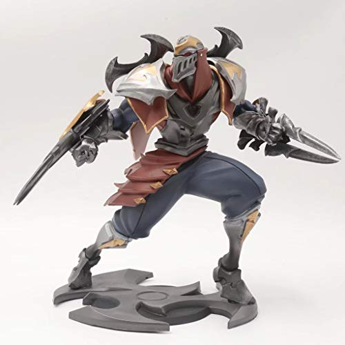 JIANPING Toy Model Game Character League of Legends Toy Statue Decoration Souvenir/Collectibles/Crafts The Main Stream/Robber 21CM Model Toys -
