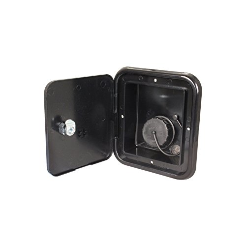 JR Products (JFE13-A Black Key Lock Gravity Water Hatch