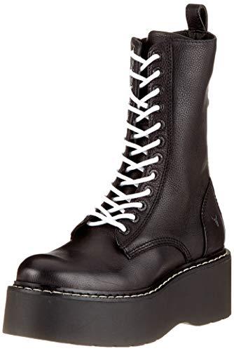 Leopold Windsor 001 Femme Rangers Noir Black Bottines et smith Bottes ggArwq5