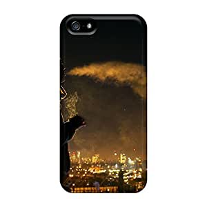 For Iphone 5/5s Fashion Design Smoke Silhouette Case-hxyJInT3211pBRZS
