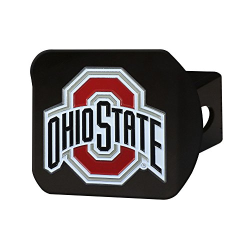 Fanmats NCAA Ohio State Buckeyes Ohio State Universitycolor Hitch - Black, Team Color, One Size by Fanmats