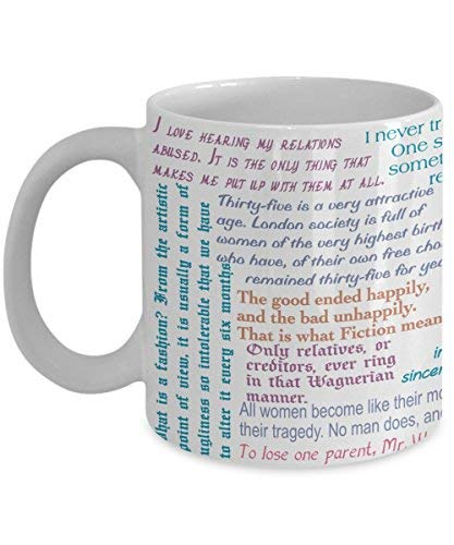 Oscar Wilde Mug - The Importance of Being Earnest - 11-ounce Coffee Tea Cup (Wit In The Importance Of Being Earnest)