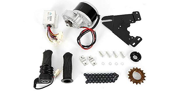 24V Electric Conversion Kit f Common Bike Left Chain Drive Custom 250W Thumb Kit