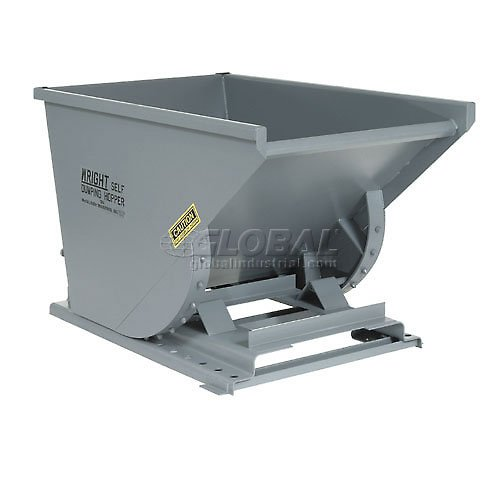 Wright Self Dumping Hopper - Heavy-Duty Self-Dumping Hoppers - 44-3/4