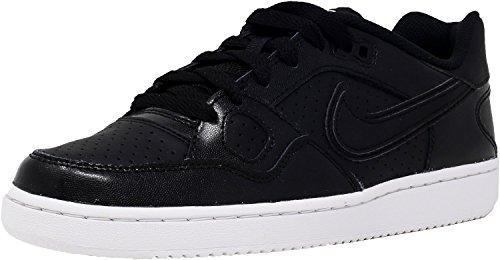 Nike Wmns Son of Force, Zapatillas de Deporte para Mujer Negro (Black / Black-white-black)