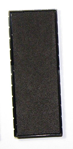 Cosco 2000 Plus E/25 Replacement Pad for Printer 25 Self-inking Stamps (Black)