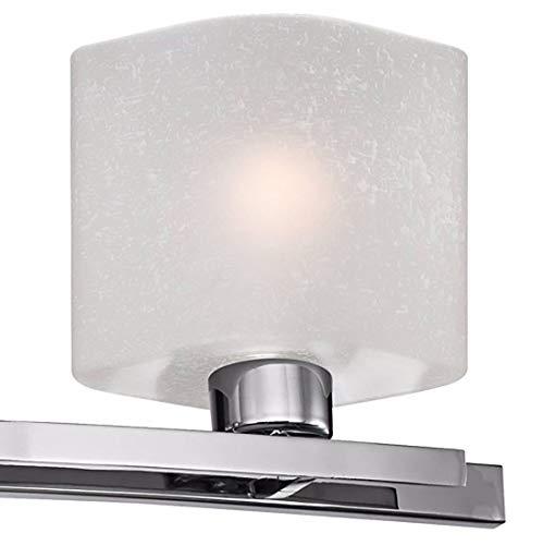 Possini Euro Linen Glass 32'' Wide Chrome 4-Light Bath Light - Possini Euro Design by Possini Euro Design (Image #2)