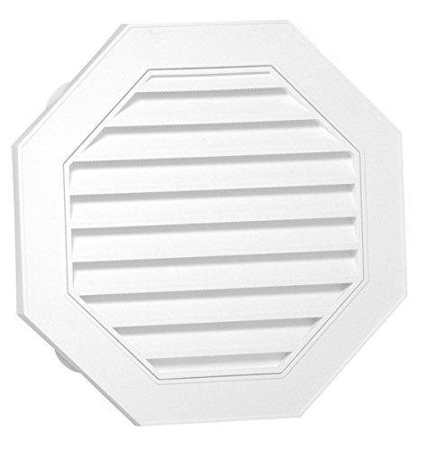 Duraflo 626058-00 18-Inch Octagonal Gable, White