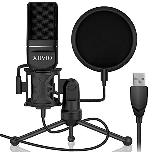 USB Gaming Condenser Microphone