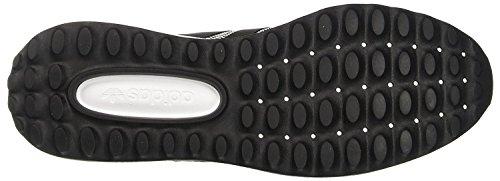 Angeles Weiß Hombre Zapatillas mit schwarz para los Adidas SZnx1qzF5
