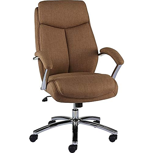 Staples Fayston Fabric Home Office Chair, Tan Brown by Staples