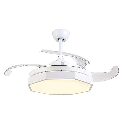 NIUZIMU Lámparas de araña Ventiladores de Techo LED con ...