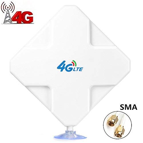 SMA Antenna 35dBi GSM High Gain 4G LTE Antenna Dual Mimo Wifi Signal...
