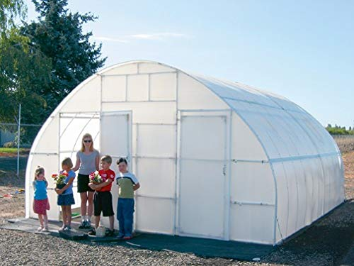 A&A Greenhouse White Plastic Film Polyethylene Covering 4 Year 6 Mil (14ft Wide X 25ft Long) by A&A (Image #2)