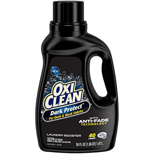 Oxiclean Dark Protect for Dark and Black Fabrics with Anti-Fade Technology, 40 Loads, 3.12 Pound (Best Detergent For Black Clothes)