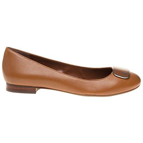 Lauren By Ralph Lauren Cameron Mujeres Zapatos Marrón Claro