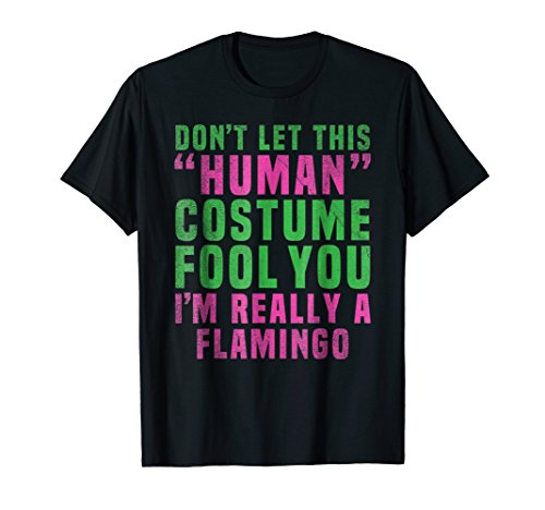 Flamingo Funny Halloween Shirt Easy Costume Ideas -
