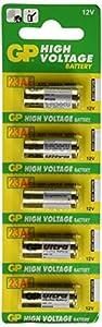 GP High Voltage 12v A23 23AE Batteries - 12V
