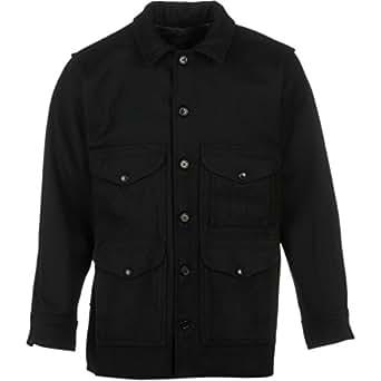 Filson 10043 Wool Mackinaw Cruiser - Black