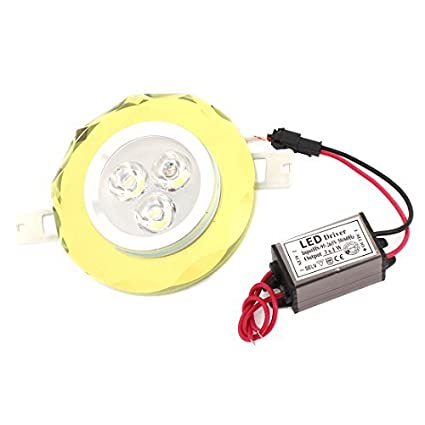 Color blanco 3W 3 LED de techo Downlight punto de la lámpara ...