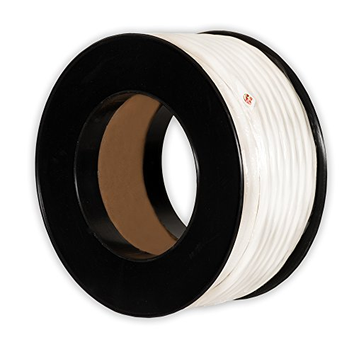 Theater Solutions C100-14-4 CL3 Rated Speaker Wire 4 Conductor 14 Gauge 100 Feet Roll UL Listed (Conductor Patio De)