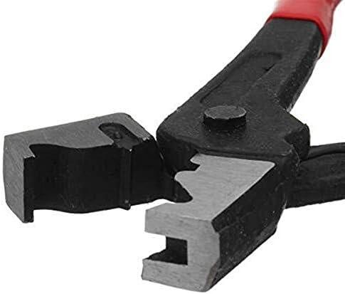 YKJ-YKJ プライヤーハンドツール、Rタイプクランププライヤーホースクリッププライヤー首輪クランプスイベルツール ペンチ