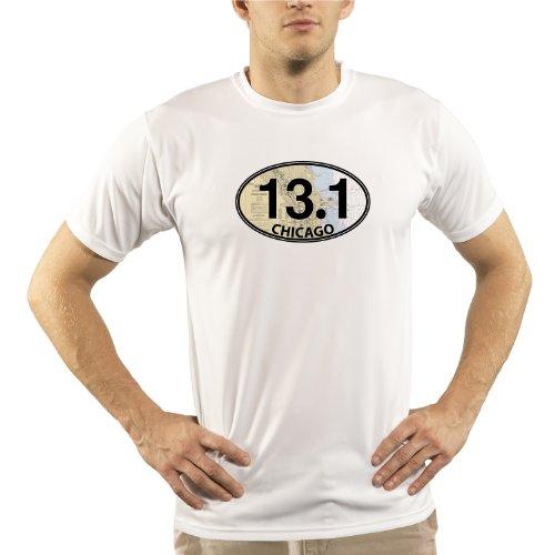 Split Time Men's Chicago 13.1 UPF Short Sleeve Running T-Shirt XXX-Large - Chicago Shop Triathlon
