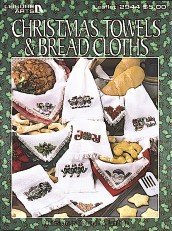 Christmas towels & bread cloths: 24 designs (Leisure Arts (Bread Cloth Cross Stitch Patterns)