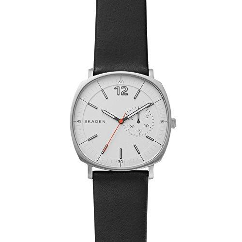 Skagen Men's SKW6256 Rungsted Black Leather Watch