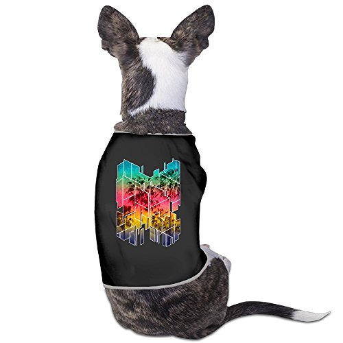 Design Dog Costumes Geometric Sunset Summer Palm