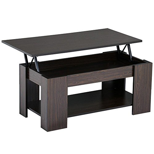 Where To Buy Lift Top Coffee Tables With Storage: Topeakmart Modern Wood Lift Up Top Coffee Table With Under