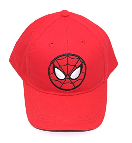SPIDERMAN KIDS BASEBALL HAT CAP- MANY (X Small, StretchBack (not Adjustable))