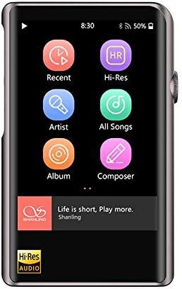 Shanling M2x. Reproductor portátil HI-Res Bluetooth (Titanium)