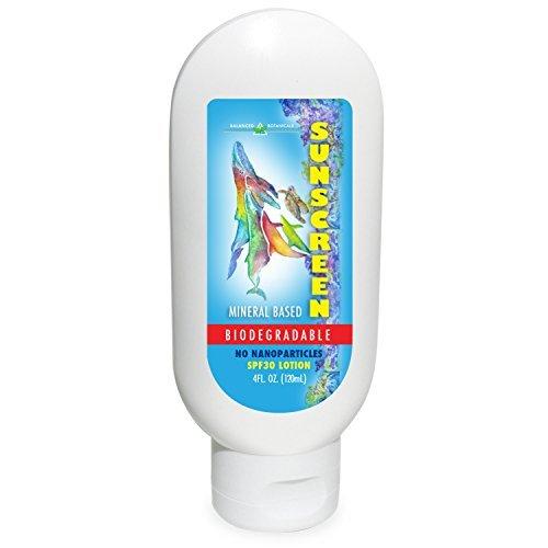 Balanced Botanicals SPF30 Mineral Biodegradable (Pomegranate Mineral Sunscreen)
