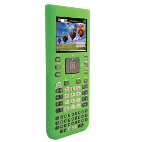 Guerrilla Silicone Case for Texas Instruments TI Nspire CX/CX CAS Graphing Calculator, Green