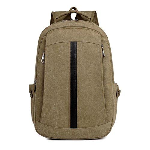Z&N Backpack Lona De La Alta Calidad Capacidad Ligera 18L Morral De Los Hombres Bolso Del Ocio Bolso Del Recorrido Bolso De La Computadora PortáTil Carpeta Uso Diario B 18L A