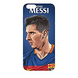 Covery Cases Messi Back Cover For Apple Iphone 6 Plus - Multi Color