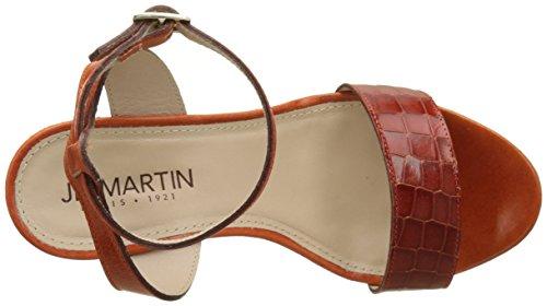 Martin Arancio Jb Femme Croco Orange V Lie Chianti V Sandales Plateforme Ola T p67ndq6AS