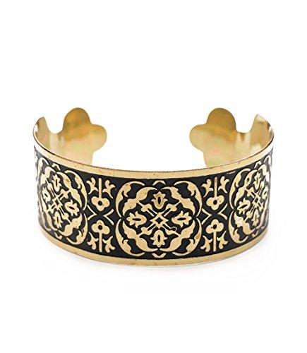 Matr Boomie JMB 430 Arabesque Cuff Gold