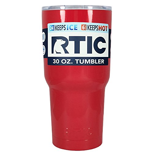 RTIC Vampire Red Gloss 30 oz Stainless Steel Tumbler Cup
