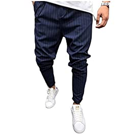 Fashion Sport Pants Twill Men's Jogging Pants Men's Jogging Pants Solid Multi Bag Jogging Pants Striped Casual Hip hop Pants